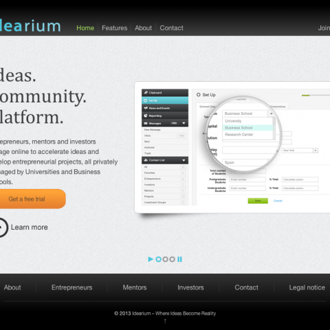 Idearium - home
